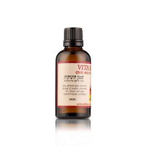 שמן בייבי של שלוס. תערובת שמנים טבעית המסייעת לשמור על הלחות הטבעית של העור. מזינה ומגמישה את עור התינוק.